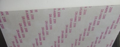 One side covered tightly by double-sided adhesive  (2)