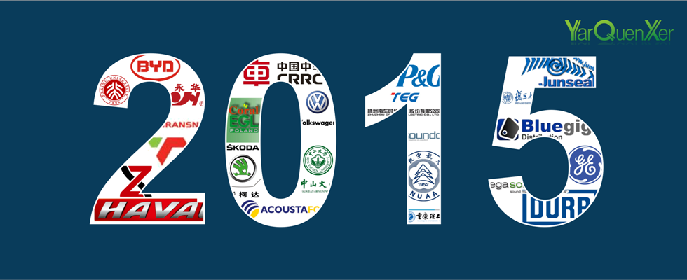 SINOYQX 2015 SOME PARTNERS AND CLIENTS