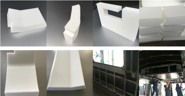 SINOYQX Melamine foam thermal, sound and cold insulation for trains